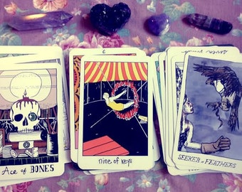 Tarot Reading - 3 cards - Past Present Future - The Collective Tarot