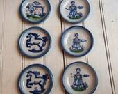 Vintage MA Hadley Coasters