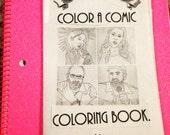 The Escapist Artist Zine Presents: Color A Comic Coloring Book