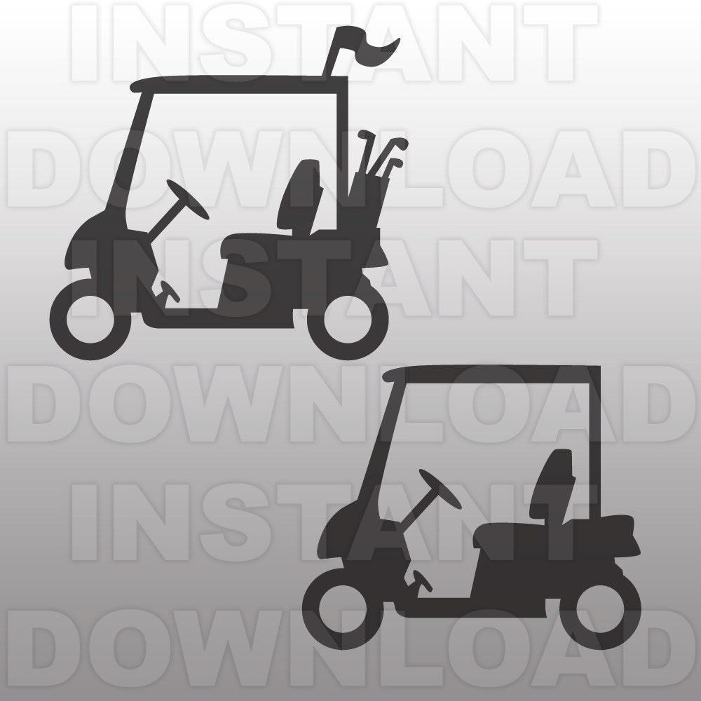 Download Golf Cart SVG FileGolf SVG FileGolfer SVG File-Cutting