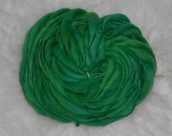 Shades of Green Slimmer Thick n Thin Merino 44 yards 2.4 oz  Super Bulky