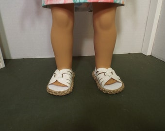 "Glittery Strappy Sandals--Perfect for 18"" dolls"
