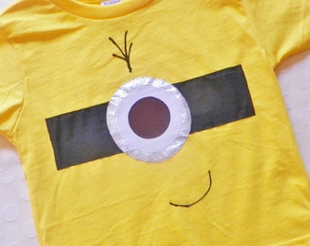 Minion Shirt Toddler Youth Adult