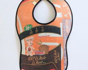 Toddler/Kid Sized Fused Plastic Bib