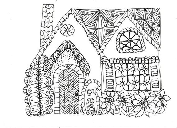 Coloring Pages Printable Adult For Kids Simple Designs To Color 11 Print From Lazytea On