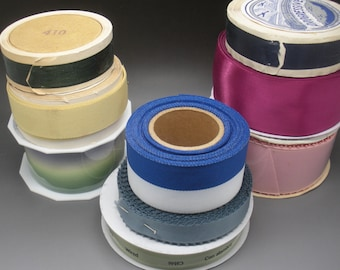 Vintage and New Ribbon Collection 9 Rolls