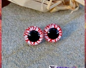 12mm Ghost Monster Zombie Plastic eyes Hand painted eyes