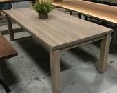 Custom Parsons Table