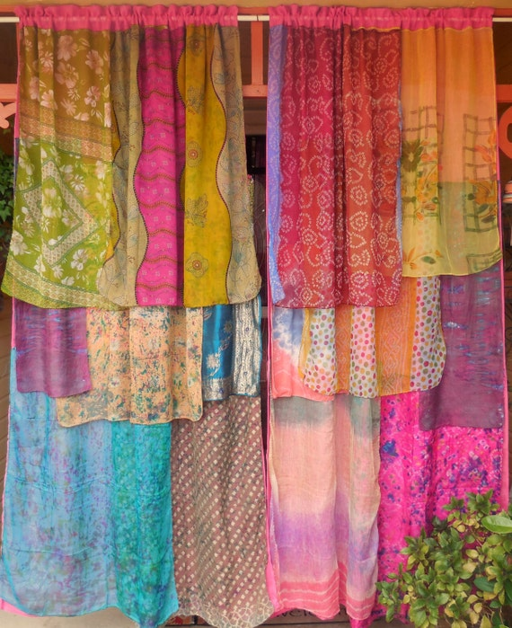 INSPIRED BY INDIA Bohemian Gypsy Curtains