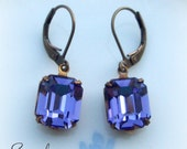Tanzanite Earrings from Simplicity Collection