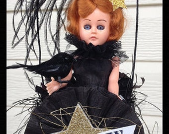 Halloween Decoration Vintage Halloween Glamour Girl Halloween Decoration  Halloween Ornament for Halloween party TVAT