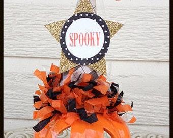 Tea Light Candle Holder Pumpkin Halloween Decoration for Halloween Party or Halloween Ornament