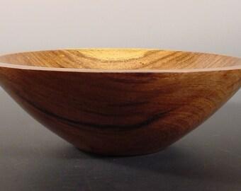 Texas Mesquite Turned Wooden Bowl Art Nmber 5996 by Bryan Tyler Nelson