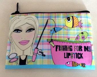 Makeup Bag - Fishing for my lipstick