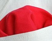 Hand Rolled Edge Pocket Square , Mens Pocket Square , Raspberry Red Pocket Square , Cotton Pocket Square ,  Men's Handkerchief , Holiday