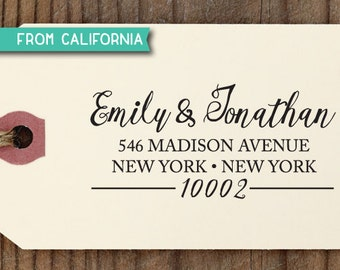 custom ADDRESS STAMP with proof from USA, Eco Friendly Self-Inking stamp, return address stamp, custom stamp, rsvp stamp, wedding stamp 249