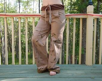 Hippie Festie Leafy pants
