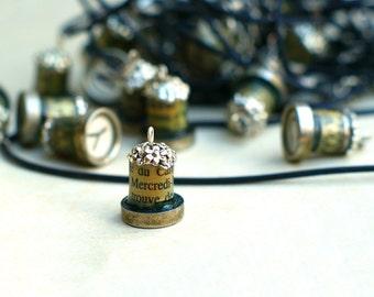 Personalized Pendant -  Vintage Typewriter Key - Choose Your Initial