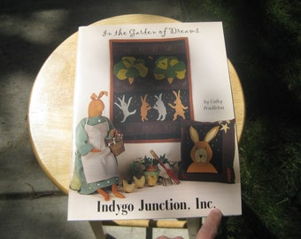 Indygo Junction - In the Garden of Dreams Craft Book - Cathy Pendleton