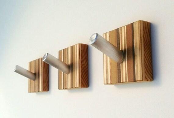 Coat Hooks Decorative Wall Art Modern Home By Andrewsreclaimed