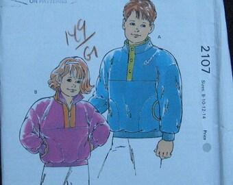Kwik Sew Boys Girls Jacket Vest Pattern 2537