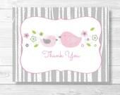 Bird Thank You Card / Bir...