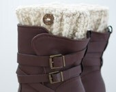 Wheat Boot Cuffs, Boot Toppers, Boot Cuffs