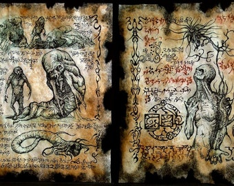 cthulhu Children of the Worm Necronomicon Fragments