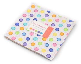 SALE!!! - Dot Dot Dash (22261LC) by Me & My Sister - Layer Cake
