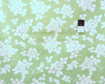 Tanya Whelan TW39 Delilah Rosie Green Cotton Fabric 1 Yd