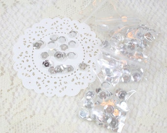 Moonshine Sequins - 10mm Slightly Cupped Sequins