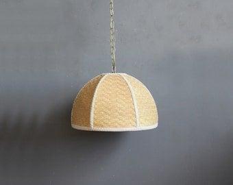 Woven Hanging Pendant Light Chandelier