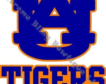 Auburn Tigers Car Decal