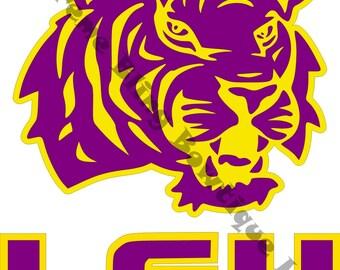 LSU Tigers Car Decal