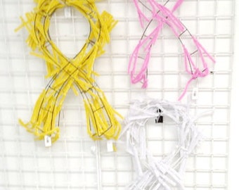 """24"""" Awareness Support Wreaths-  - Choose your color-ON SALE in OCTOBER"""