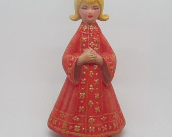 Vintage Musical Girl Figurine From AES Japan