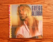 The GREGG ALLMAN BAND recycled I'm No Angel album cover coasters and record bowl