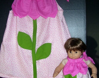 Matching Pink flower Princess Sundresses size 5/6 FREE SHIPPING