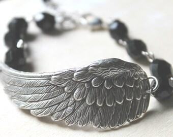 Free shipping. Solo Flight Bracelet- Customize your Swarovski Crystal Color