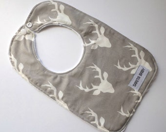 Baby Bib - Deer - Deer Bib - Baby Gift