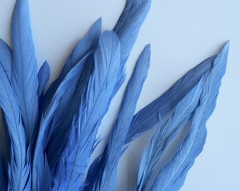 COQUE Tail Feathers,  Loose / Forget me not Blue  / 194