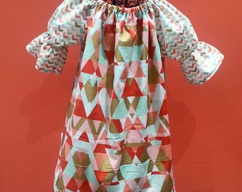 Easter Dress - Girls Spring Dress - Peasant Dress - Birthday Dress - Groovy Gurlz