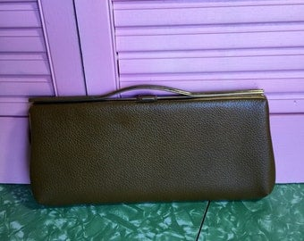 Mod 60s Clutch in Brown