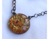 Roller Derby Golden Whistle Necklace