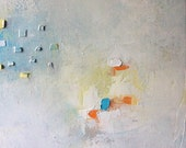 """Original Abstract Oil Painting, """"Say No More"""", contempoary, modern art"""