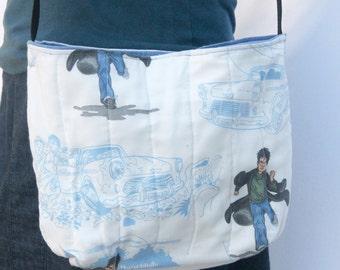 Harry Potter Handbag made from Vintage Sheets