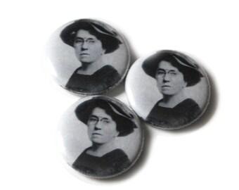 Emma Goldman 1inch Pinback Button