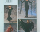 Witch Vampire Lady Devil Costumes Pattern Butterick 3554 Size 12 14 16 Bust 34 36 38 UNCUT