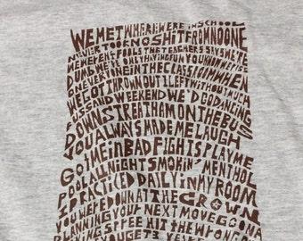 The Clash Stay Free Tshirt