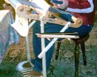 Floor Stand for Kromski Harp Rigid Heddle Loom